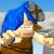 Грибоед - Троглодит собирает грибы и драгоценности в режиме аркады.