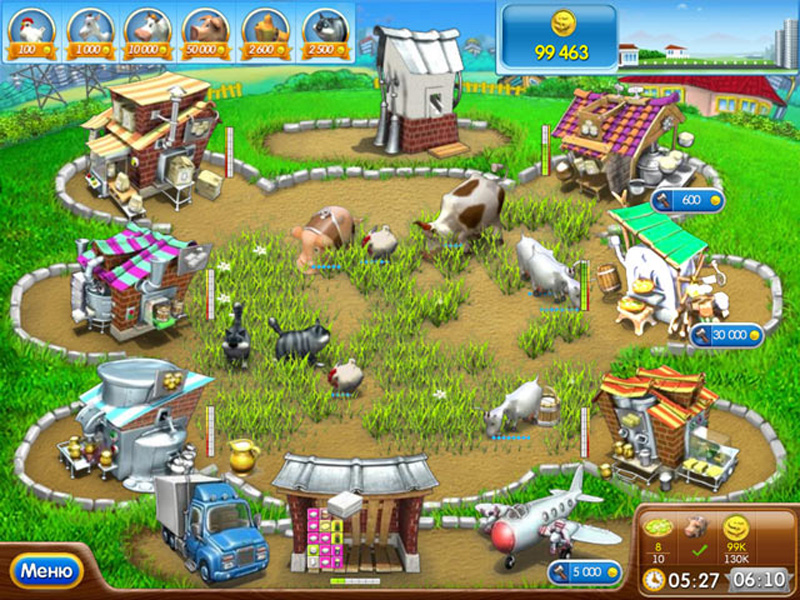 Скачать веселая ферма 2 для андроид