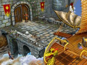 Скриншот из игры Алладин и Волшебный череп