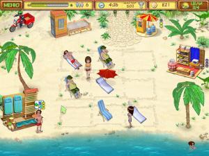 Скриншот №1 из игры Пляжный Переполох