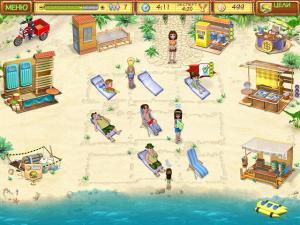 Скриншот №3 из игры Пляжный Переполох