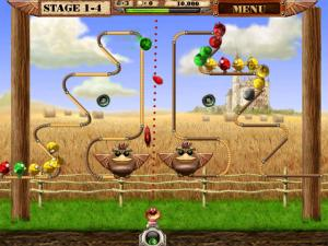 Скриншот из игры Птички На Проводе