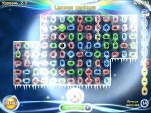 Скриншот из игры Цепочки.Галактика