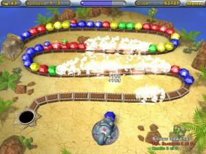 Скриншот из игры Алмазы Хамелеона