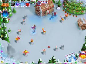 Скриншот из игры Новогодний переполох
