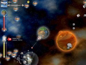 Скриншот из игры Планета Битвы