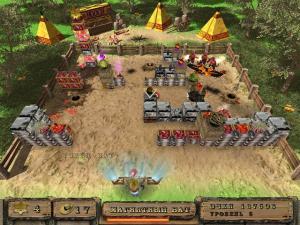 Скриншот из игры КовБолл