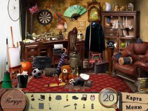 Скриншот из игры Детективное агентство