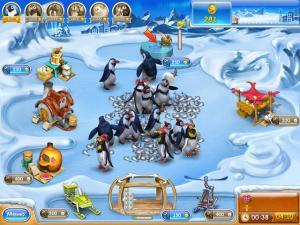 Скриншот из игры Веселая ферма. Ледниковый период