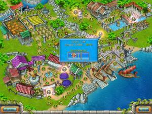 Скриншот из игры Веселая ферма. Древний Рим