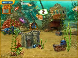 Скриншот №1 из игры Фишдом H2O. Подводная Одиссея