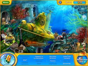 Скриншот №2 из игры Фишдом H2O. Подводная Одиссея