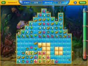 Скриншот из игры Фишдом. Время праздников