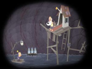 Скриншот из игры Гамлет