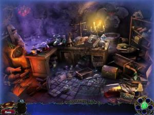 Скриншот из игры Шерлок Холмс и собака Баскервилей