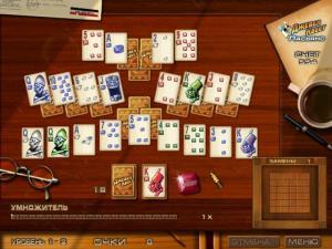 Скриншот из игры Джевел Квест Пасьянс
