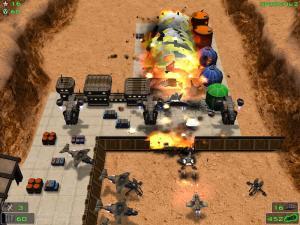 Скриншот из игры Кратер