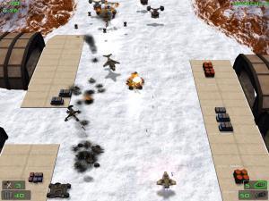 Скриншот №2 из игры Кратер