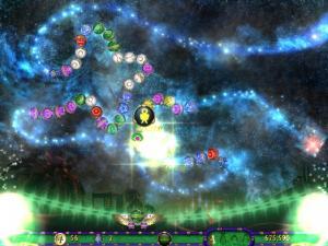 Скриншот № 1 из игры Луксор 3