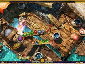 Скриншот из игры Луксор 4. Тайна загробной жизни