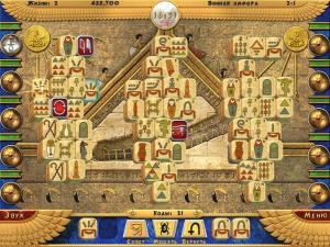 Скриншот №2 из игры Луксор Маджонг