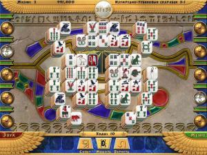 Скриншот №4 из игры Луксор Маджонг