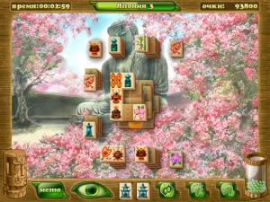 Скриншот из игры Маджонг Артефакт 2