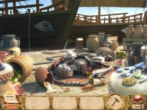 Скриншот из игры Тайна Клеопатры