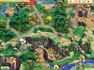 Скриншот из игры Полцарства за принцессу