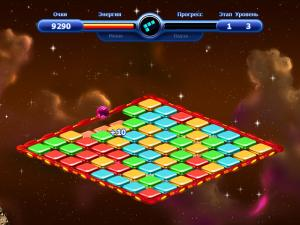 Скриншот из игры Космическое Путешествие