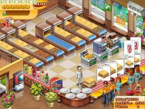 Скриншот из игры Мастер бургер 3