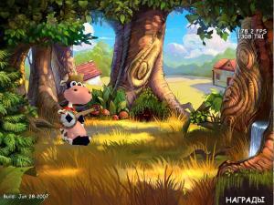 Скриншот из игры Супер Корова
