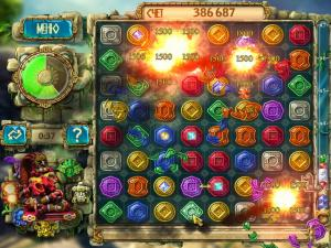 Скриншот №3 из игры Сокровища Монтесумы 3