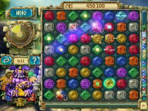 Скриншот №4 из игры Сокровища Монтесумы 3