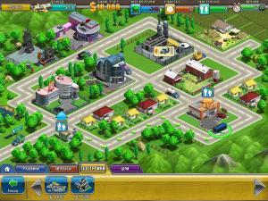 Скриншот из игры Виртуальный Город