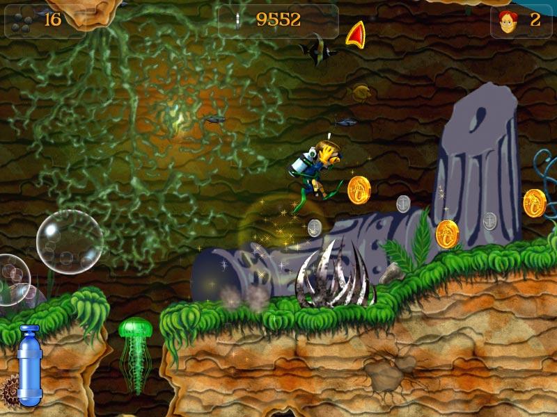 Скриншот из игры Приключения Кенни.